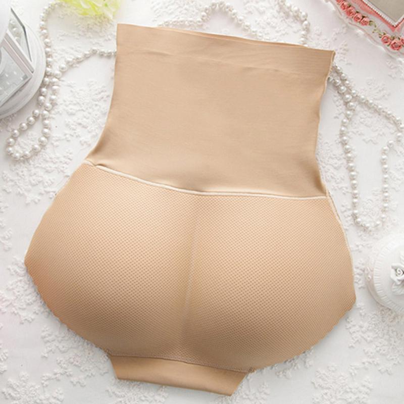 Women Sexy Shaper Underwear Butt Lift Briefs Fake Ass Hip Up Padded Lingerie Butt Enhancer Panties Push Up Seamless Underwear 2 in Control Panties from Underwear Sleepwears