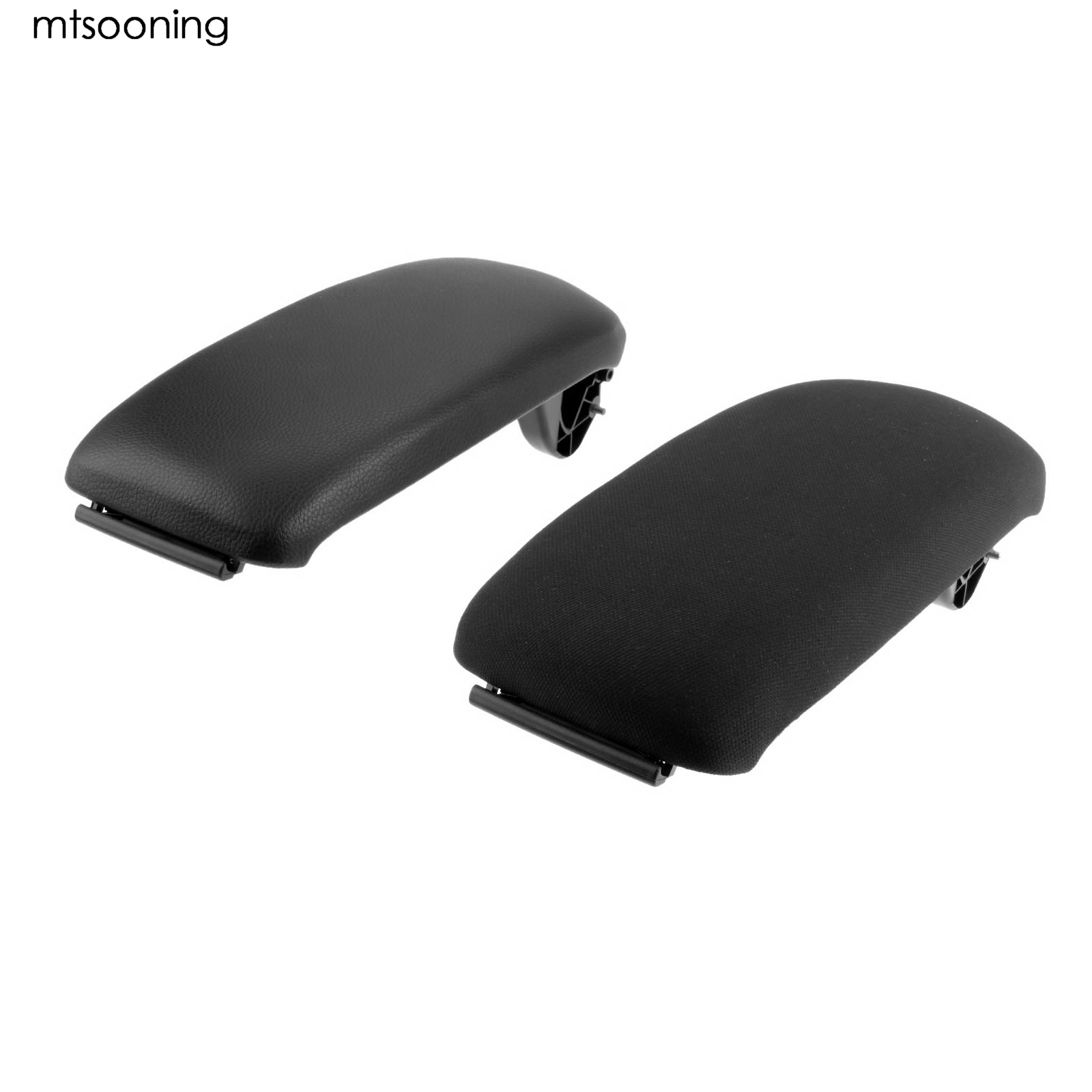 mtsooning Car Center Console Armrest Cover Lid 8P0864245P Black For AUDI A3 S3 8P 2003 2004 2005 2006 2007 2008 2009 2010-2012 leather center console armrest cover lid fit for audi a4 b6 b7 2002 2003 2004 2005 2006 2007