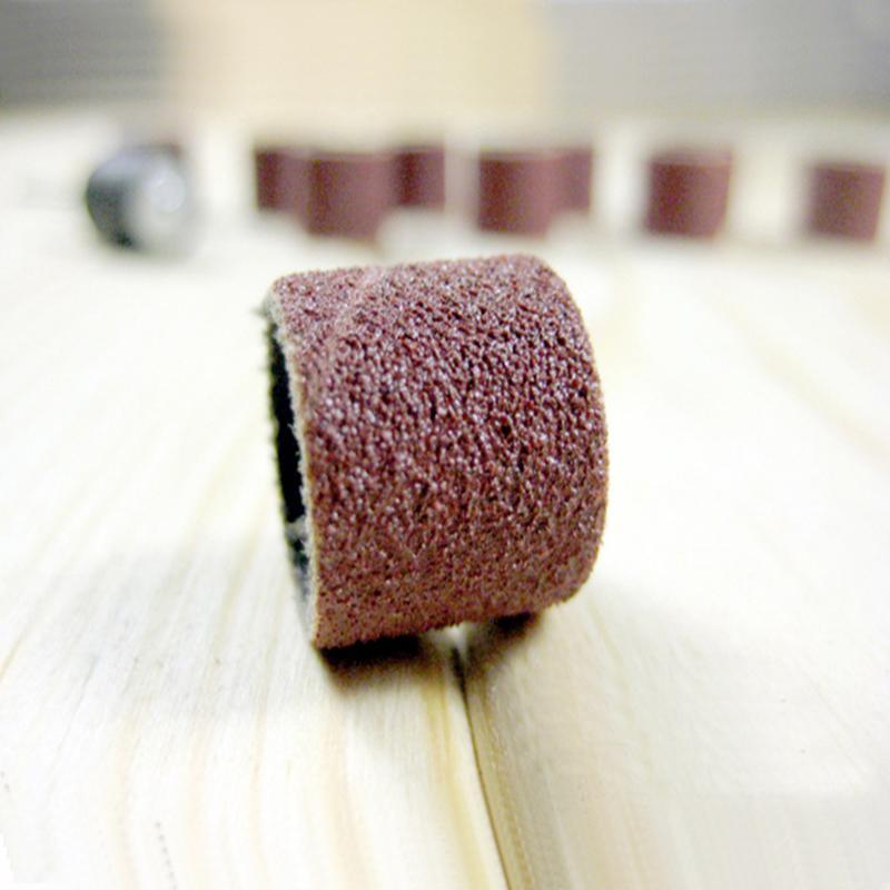 100vnt 1/2 1/4 šlifavimo rankovės elektriniams įrankiams dremel - Elektrinių įrankių priedai - Nuotrauka 2