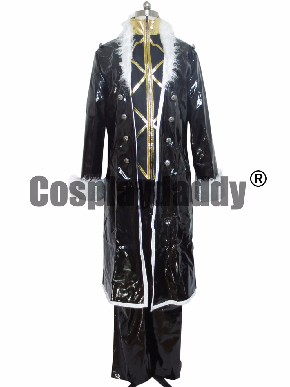 HUNTERxHunter Phantom Troupe Chrollo Lucilfer Vysoce kvalitní kostým Cosplay F008