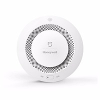 2017 Xiaomi Mijia Honeywell Fire Alarm Detector Audible Visual Smoke Sensor Remote Mihome APP Smart Control