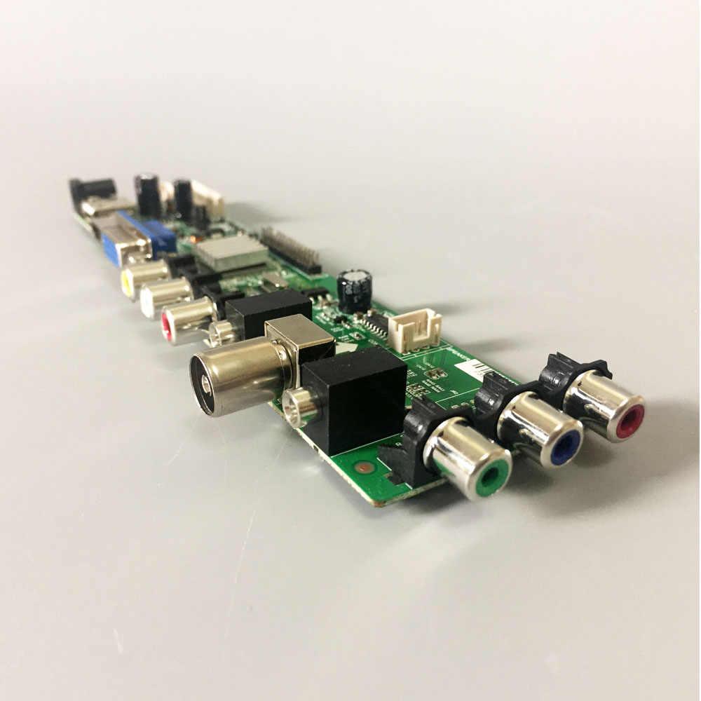 DS. D3663LUA. A81.2.PA V56 V59 لوحة تحكم شاملة في التلفزيون الإل سي دي لوحة للقيادة دعم DVB-T2 مجلس التلفزيون 7 مفتاح التبديل IR 4 مصباح العاكس LVDS 3663