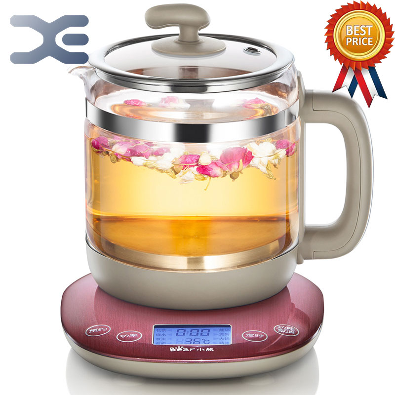 1.5L Glass Electric Cooking Pot Multifunction Kettle Electric Appointment Timing Kettle High Quality high quality fire resistant plastic parts electric kettle cover mold