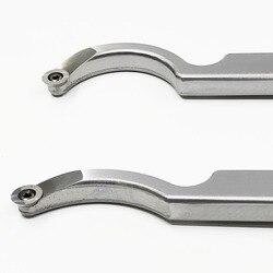 Houtbewerking Tool Aluminium Handvat Kom Cutter Hollow Mes Vervangbare Blade Hout Draaien Tool