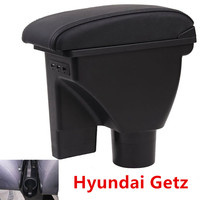 For Hyundai Getz armrest box Hyundai Getz car Universal Central armrest storage box  modification accessories|Armrests| |  -