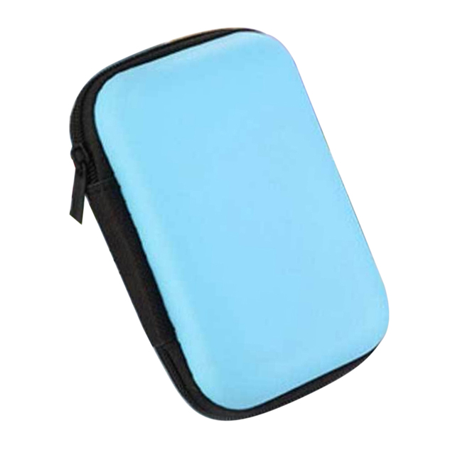 Multifunction Home Organizer Cases Travel Waterproof Zipper Storage Bags For Earphone Cable Power Bank 11*7cm