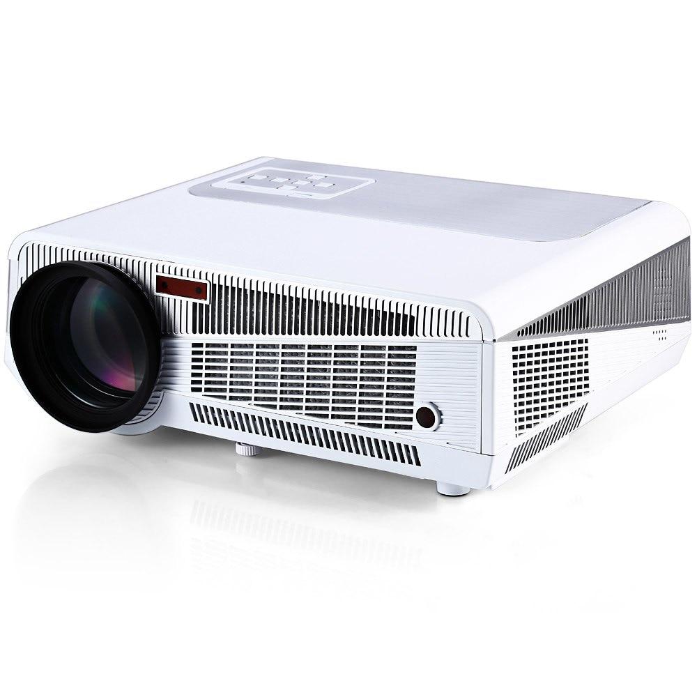 Htp led-86 con led android wifi proyector 3600 lúmenes soporte hdmi RJ45 TV AV U