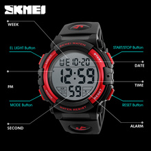 Mens Sports Watches Famous Brand Luxury Men's Military Army Watch Digital LED Electronic Waterproof