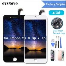 ЖК-дисплей Дисплей планшета для iphone 5S 5 4S 7 6 ЖК-дисплей Сенсорный экран Панель для iphone 6 ЖК-дисплей Экран Ассамблеи replacment ecran для 5S