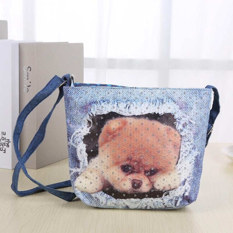 EAPTS Mini Cute Rabbit Shoulder Bag Messenger Single-Shoulder Bag Snack Bags For Kids White