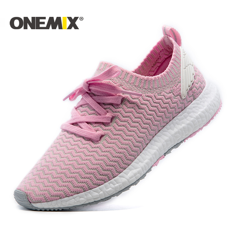 ONEMIX women running shoes athletic sport shoes for women breathable trainers chaussure femme zapatillas sneakers free shipping kelme 2016 new children sport running shoes football boots synthetic leather broken nail kids skid wearable shoes breathable 49