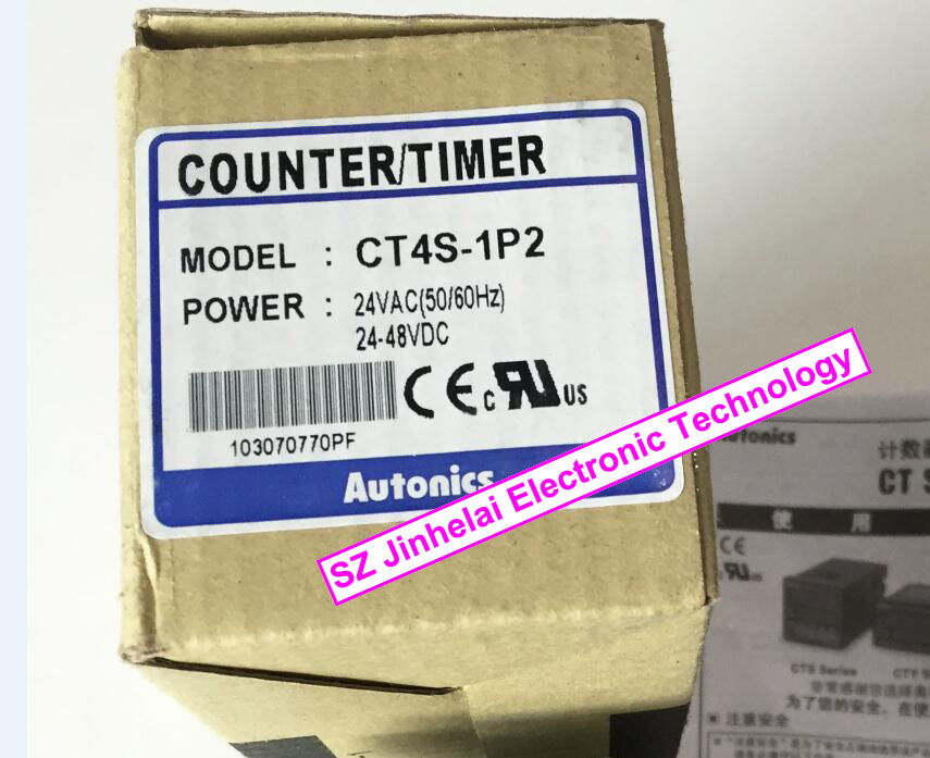 CT4S-1P2(CT4S) New and original AUTONICS Count relay 24VAC 24-48VDC omron k8ak vw2 new and original 3 phase monitoring relay 24vac dc