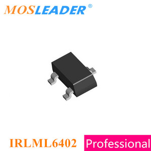 Image 2 - Mosleader IRLML6402 SOT23 3000 pièces 20V à Canal P Rds = 65mR 100mR IRLML6402TRPBF IRLML6402TR IRLML6402PBF Chinois De Haute qualité