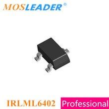 Mosleader IRLML6402 SOT23 3000PCS 20V P Channel Rds=65mR 100mR IRLML6402TRPBF IRLML6402TR IRLML6402PBF Chinese High quality