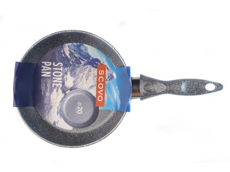 Frying Pan SCOVO, Stone Pan, 20 cm frying beef pan