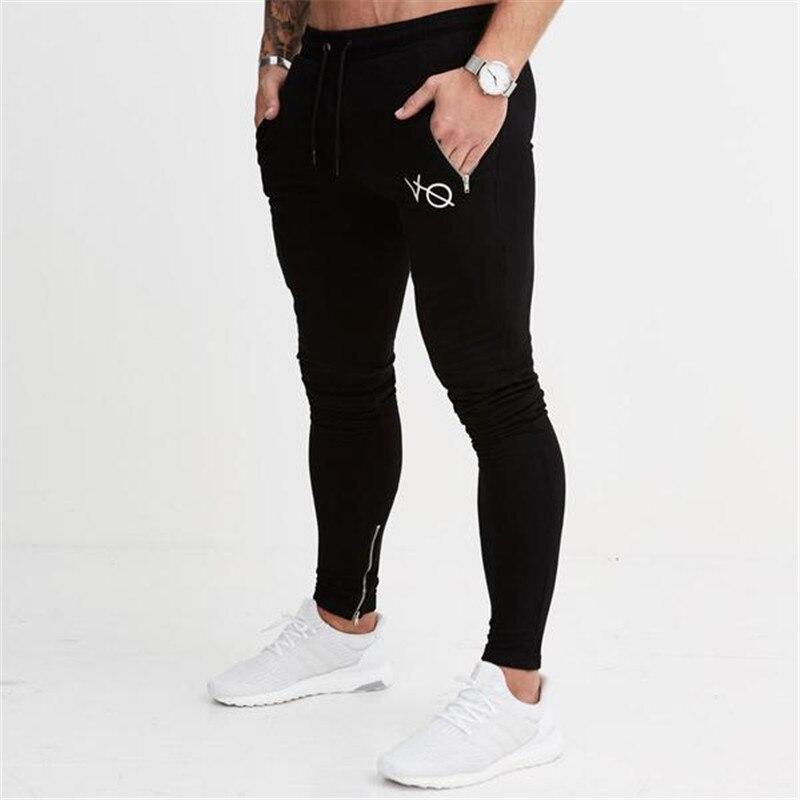 2018 Для мужчин осень-зима стиль брюки Повседневное модные Треники мужской тренажерные залы, фитнес-хлопковые брюки спортивной Jogger бренд кар... ...