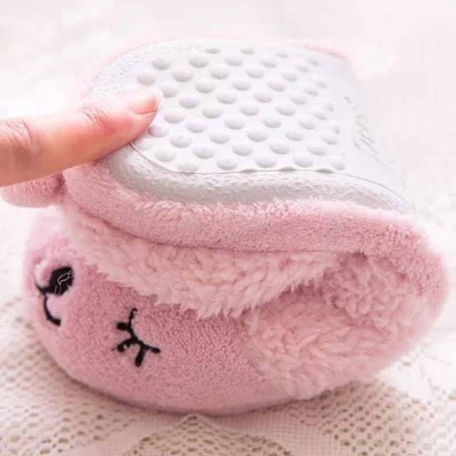 8752ad184e627 Drop shipping Winter Warm Indoor Slippers Cute Cartoon sheep for women  indoor bedroom house ladies shoes