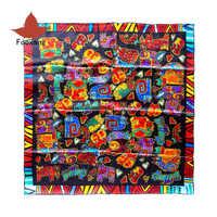 Женский шарф с квадратами 100% шелковые шарфы люксового бренда бандана пашмины Животные Кошки принты 34