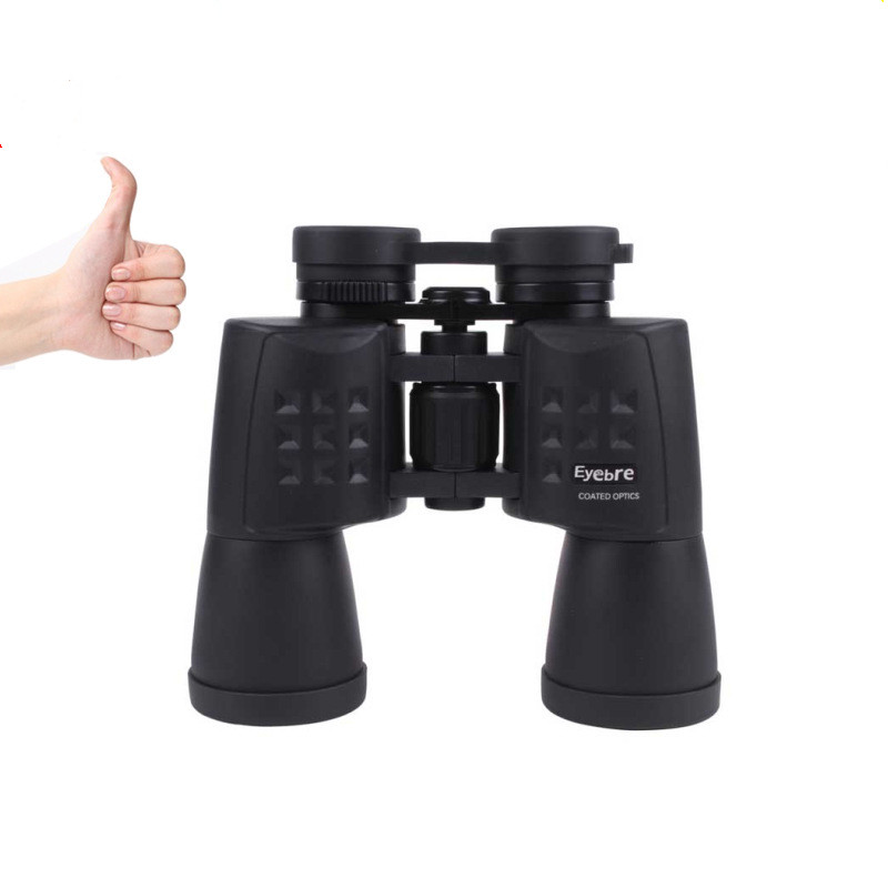 High Magnification Binoculars,Bial 10X50 HD Professional Super High-Powered Surveillance Compact Folding Roof Prism Telescope Cl