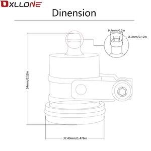 Image 5 - Nuevo Universal depósito de líquido de frenos para moto embrague de aceite del tanque de tapón de fluido para yamaha YZF R1 R6 FZ1 FZ6 XJ6 XT 660 R MT125
