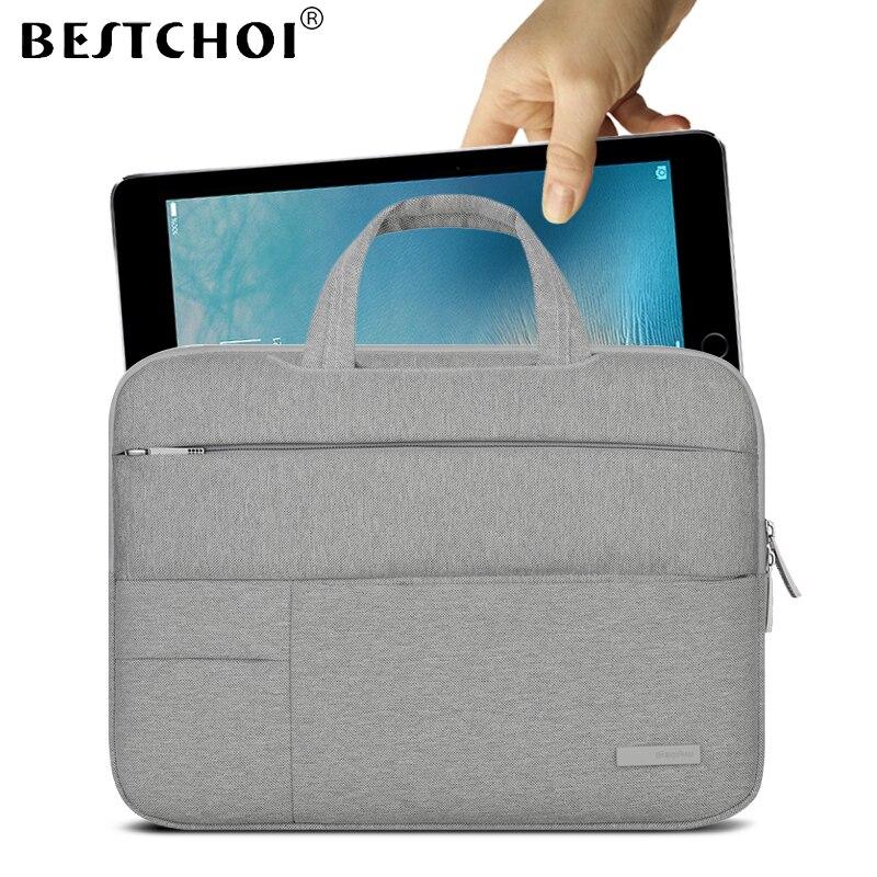 BESTCHOI Tablet Sleeve Case for Apple iPad Pro 9.7 10.5 12.9 Case Women Men Waterproof Protective Handbag for iPad Air 1 2 Case