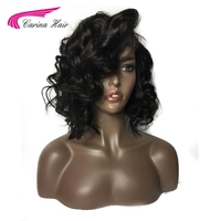 Carina Glueless Lace Front Wigs With Baby Hair For Black Women Loose Wave Malaysian Non Remy