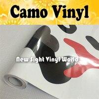 JUMBO красный тигр камуфляж винил автомобиля обёрточная бумага камуфляж плёнки простыни клей Тигр красный Urban Camo Viyl Размеры: 1,50*30 м/Roll