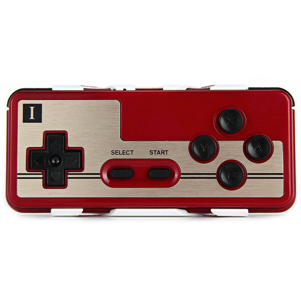 New 2Set 8Bitdo FC30 Dual Player Wireless Bluetooth Gamepad Game Controller for iOS Android Gamepad PC Mac Linux Retro design