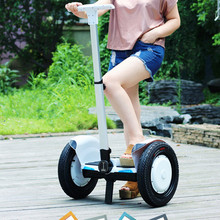 Safe Battery 500w 15inch Handrail Electric Standing Bicycle hoverboard 36v