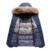 Nova Chegada dos homens Jaqueta Curta Mens Engrossar Casacos de algodão Casaco de Inverno Grande gola De Pele Casaco Com Capuz Parkas