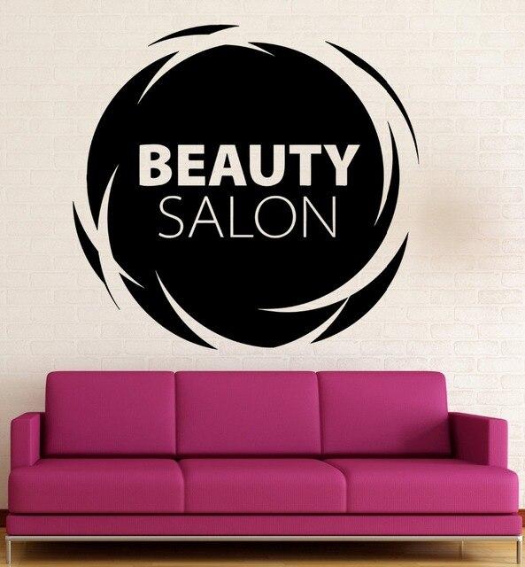 Spa salon logo wall decal quotes beauty salon vinyl wall stickers spa salon logo wall decal quotes beauty salon vinyl wall stickers design signs girls beauty salon altavistaventures Images
