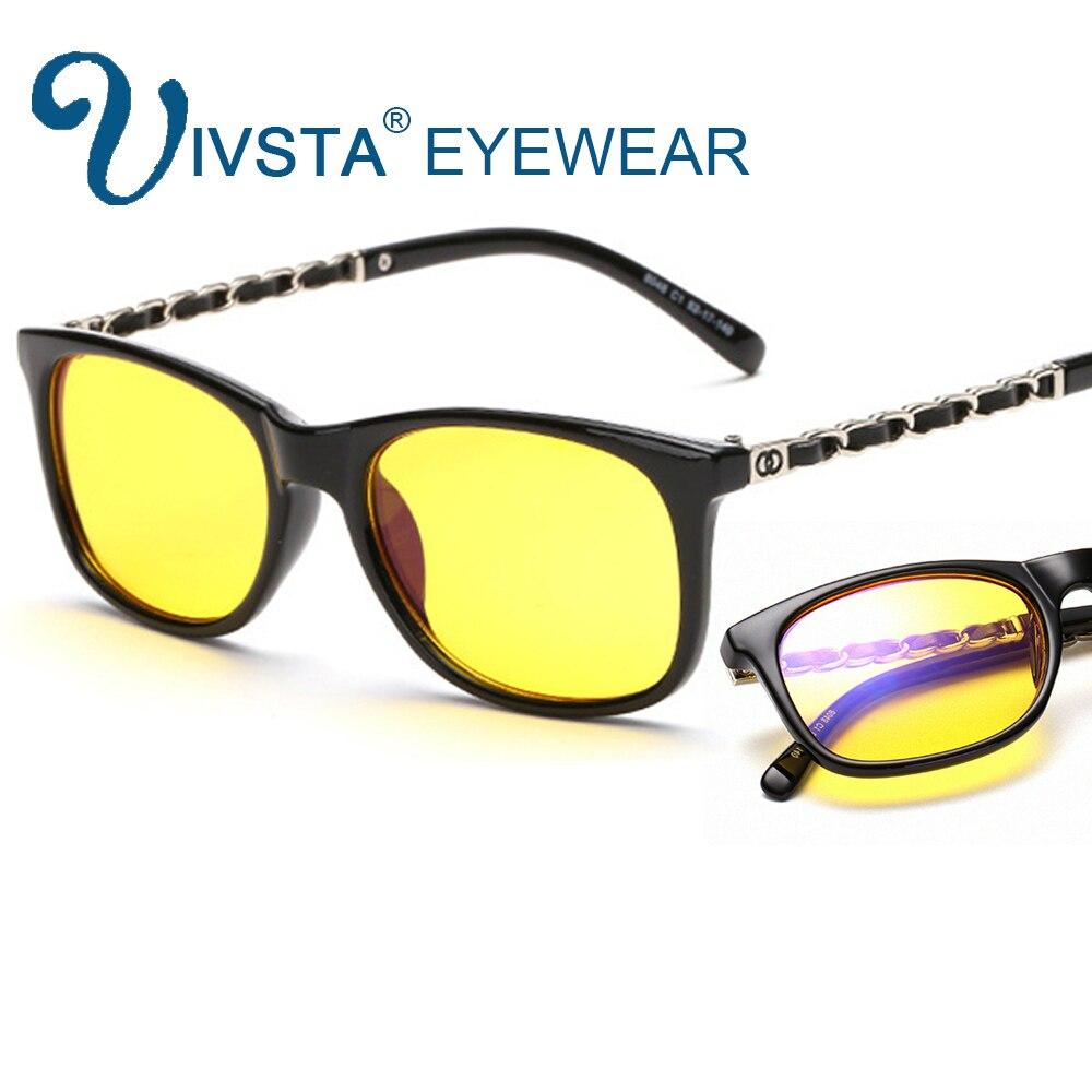 7c276f8bb3 Cheap IVSTA Anti rayos azules gafas de ordenador mujeres anti radiación  Gaming lentes amarillos gafas marca