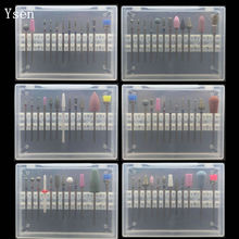 12pc Nail Drill Bit Set Nail Files Electric Machine for Manicure Rotate Burr Polishing Tools Cutters Manicure Accessory