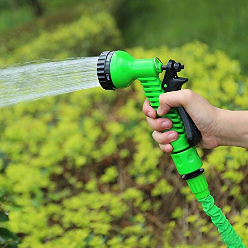 Многофункциональный водопровод высокого давления 25 футов Волшебный гибкий шланг водопровода для