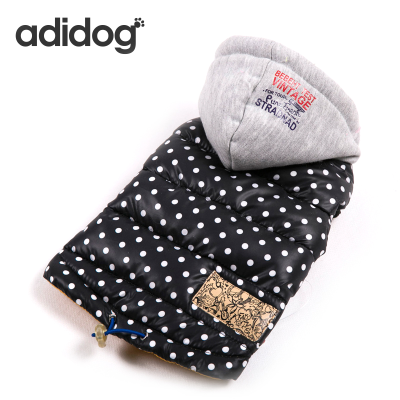 New Winter Pet Dog Clothes For Small Dogs Warm Down Jacket Waterproof Spots Dog Coat Thicker Cotton Clothing For Chihuahua S XXL