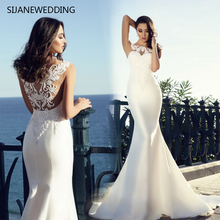 SIJANEWEDDING SIJANE Satin Mermaid Wedding Dresses