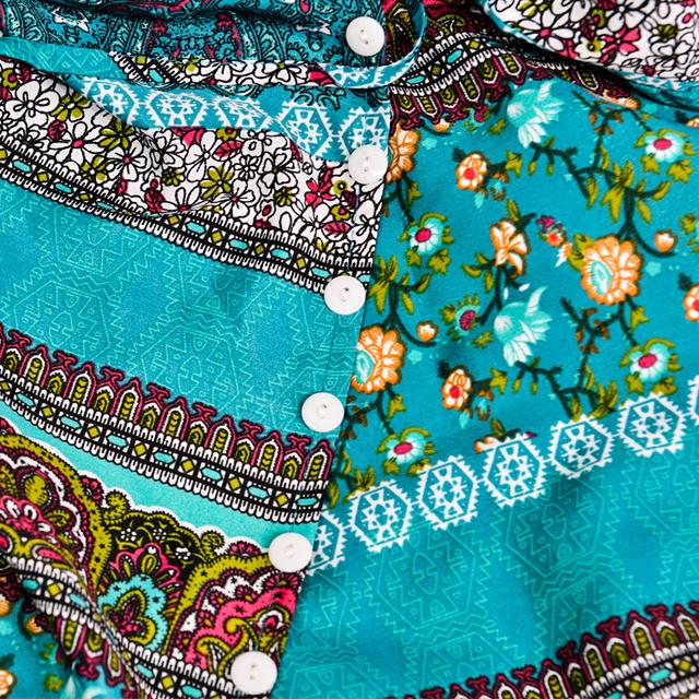 DeRuiLaDy Women Floral Print Halter Chiffon Long Dress Sexy Backless Split Maxi Dresses Vestidos Casual Beach Summer Dress