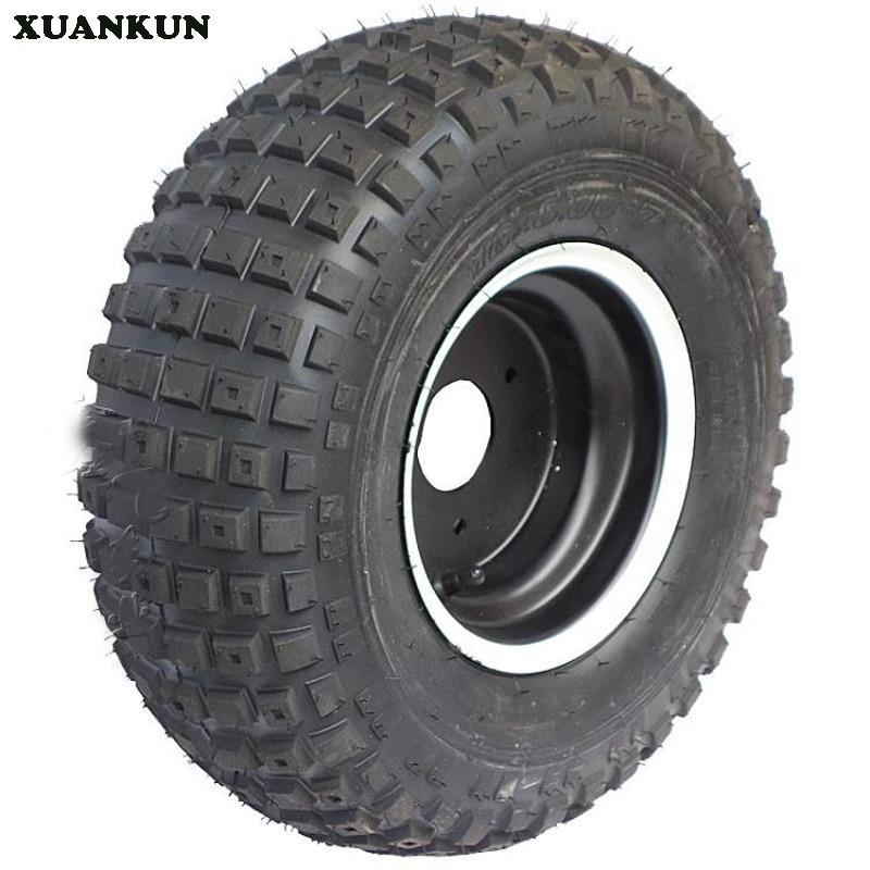 XUANKUN ATV 7 Inch Vacuum Tire 16x8-7 Inch Tire Wheel Block Wear block 29 page 7