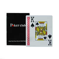 100% Plastic PVC playing card game poker cards Waterproof and dull polish poker club Casino Board games Pokerstars Accessories