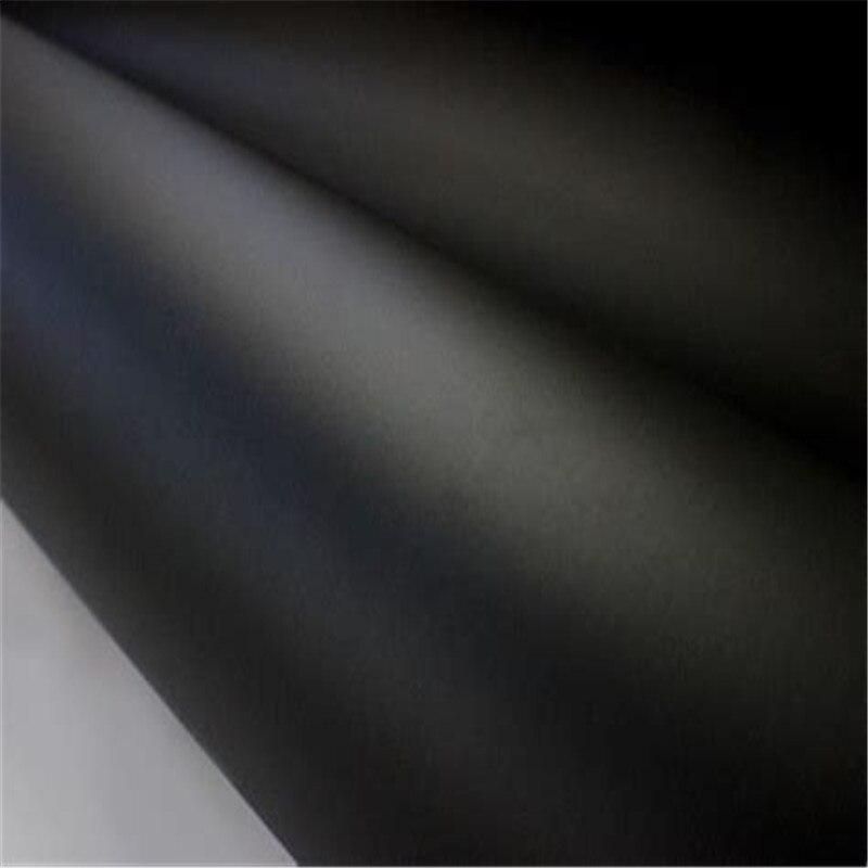20cmx152 премиум черный цвет матовая поверхность винил автомобильные обертывания Авто Лодка DIY двигатель сатин матовая черная пленка для оклейки машины пленка наклейка для автомобиля украшение