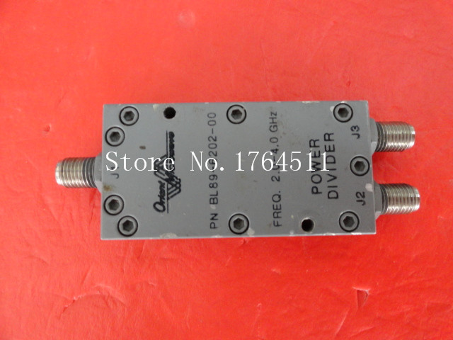 [BELLA] M/A-COM BL89-6202-00 2-4GHz A Two Supply Power Divider SMA