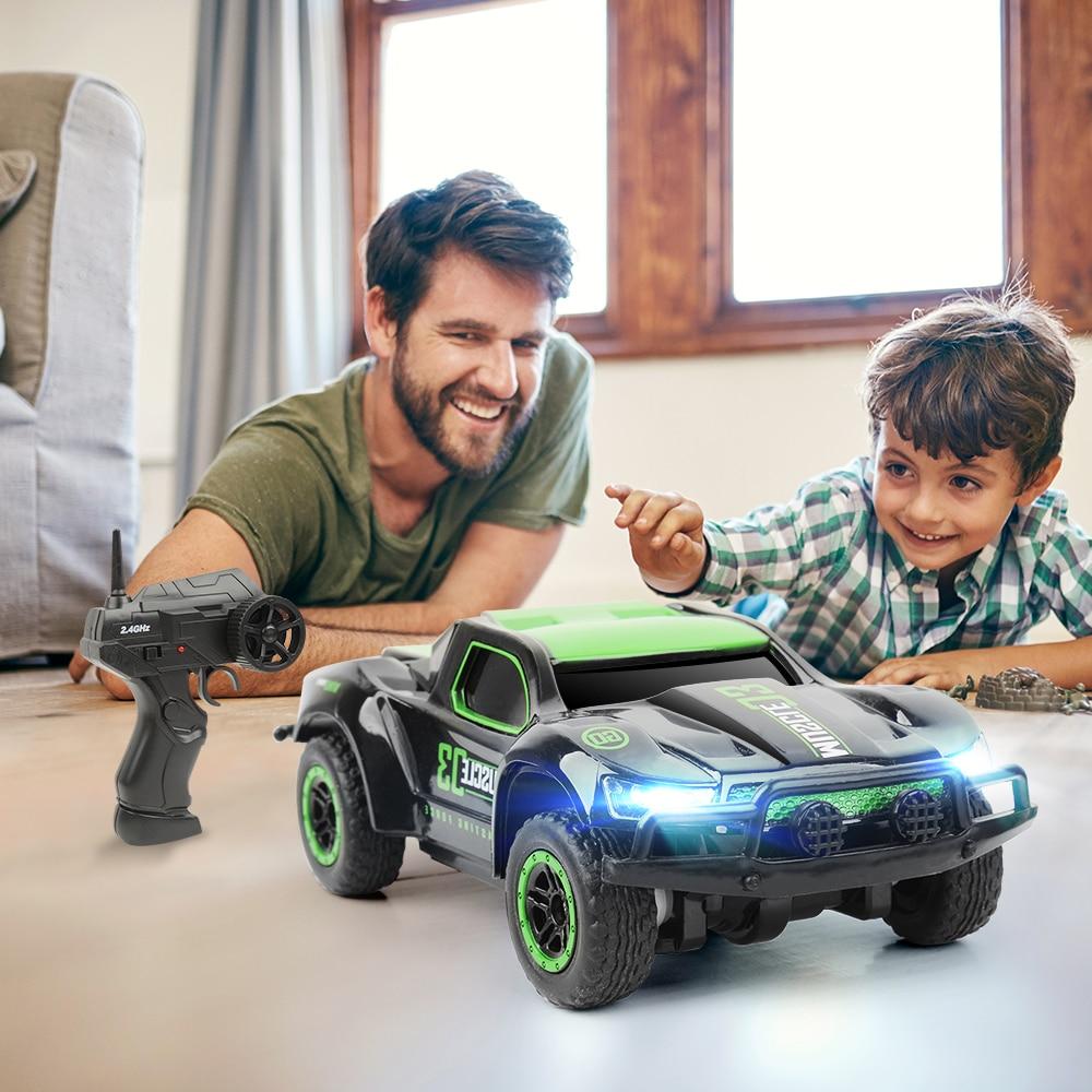 1/43 Mini Rc Carro de Brinquedo de Controle Remoto Carros De Alta Velocidade 25 KMH caminhão 4CH Rádio Controlado Carros Brinquedos Para As Crianças presentes de natal