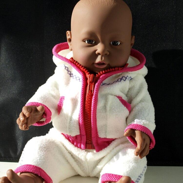41CM Baby Doll Clothes Kids Reborn Dolls Soft Vinyl Silicone Lifelike   Newborn Baby Toy For Boys Girls Birthday Gift Toys