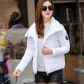 Korean New down coat for women light and thin cotton-padded women's jacket slim short winter womens parkas Q687