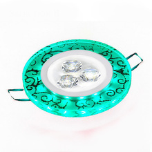 Super Bright Recessed Plafonnier Led lamp Downlight COB Decoration Led spot Panel Ceiling Lamp light 110V