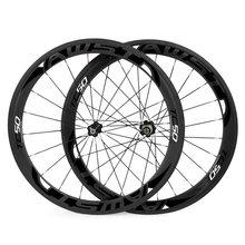 цена на 1 year warranty 50mm bicycle carbon wheels 3k glossy clincher 700C road bike wheels basalt surface race bike wheels in stock
