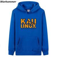 Coding Style Kali Linux Letters Printing Man S Hoody Sweatshirts Fan S Must Have Pullover Fleece