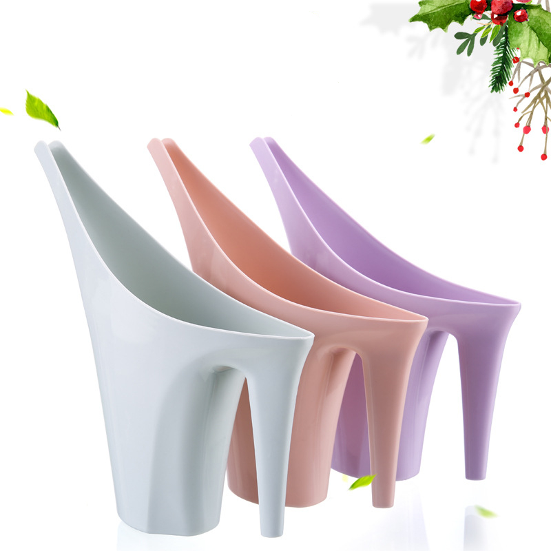 VICTMAX Long Mouth Garden Watering Cans For Flowers Garden Tools Plastic Watering Pot Plants Durable Watering Can - Random Color