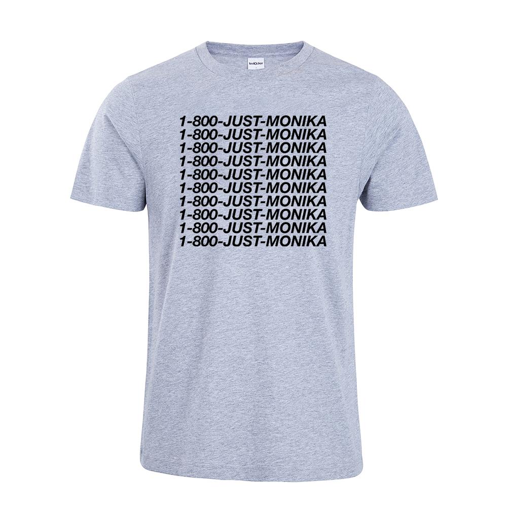 1 800 JUST MONIKA T Shirt Doki Doki Literature Club Inspired