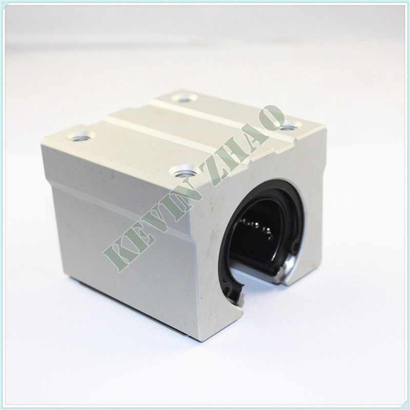 4pcs SBR20UU aluminum block 20mm Linear motion ball bearing slide block match use SBR20 20mm linear guide rail